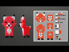 Laceys Crafts is all about sharing super simple and adorable crafts for kids. Perler Bead Designs, Perler Bead Templates, Fuse Bead Patterns, Perler Patterns, Beading Patterns, 3d Perler Bead, Diy Perler Beads, 3d Figures, Peler Beads