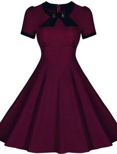 Women Summer Retro Vintage 50s Casual Party Rockabilly Dress Audrey Hepburn Pinup Swing Dress Plus Size Vestidos Femininos S-XXL Alternative Measures