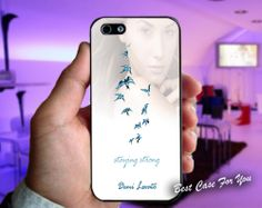 Demi Lovato Staying Stong Print on cover for by LareesManiez, $13.50