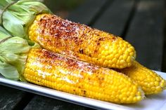 grilled corn on the cobb