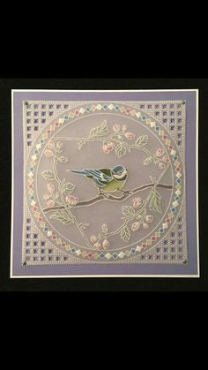 T T bird circle frame Vellum Paper, Paper Cards, Clarity Card, Parchment Design, Parchment Cards, Bird Cards, Card Patterns, Printable Paper, Machine Embroidery Designs