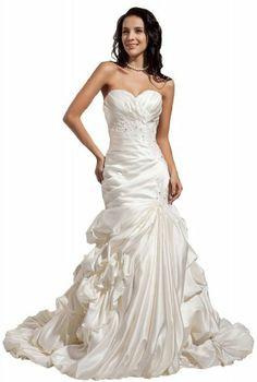 GEORGE BRIDE Luxury Mermaid/Trumpet Satin Chapel Train Wedding Dress Size 12 White GEORGE BRIDE,http://www.amazon.com/dp/B00ADIDT70/ref=cm_sw_r_pi_dp_a0uHsb0KFEM8HA5Z