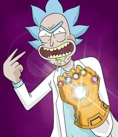 Rick and Morty x Infinity War
