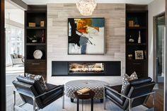 65 simple fireplace décor ideas on budget (29)