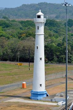 Gatun Northbound Rear Lighthouse, Colon, Panama