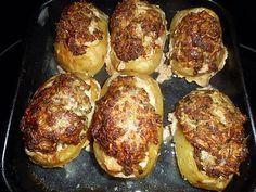 Recette de Pommes de terre farcies à la viande par jeanmerode