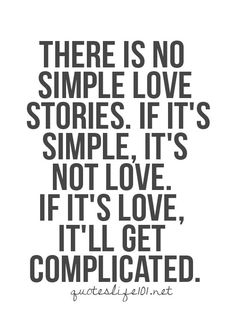 Simply complicated....lol