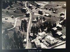 Overlooking Zermatt - Parkhotel Beau Site in the 1950s