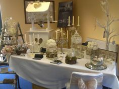First wedding fayre stand