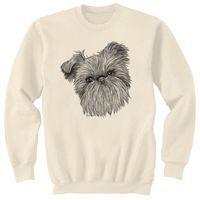 Dog Art Sweatshirt - Brussels Griffon