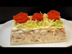 Sandwich Cake, Sandwiches, Pollo Chicken, Spanish Cuisine, Mexican Food Recipes, Ethnic Recipes, Main Dishes, Chicken Recipes, Food And Drink