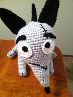 Frankenweenie Inspired Sparky Amigurumi Crochet Deluxe Life size Plush Pattern PDF by Heartinflight23 for $3.00
