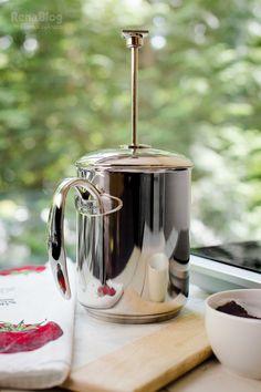 Cafetera Francesa/Chocolatera de Rena Ware