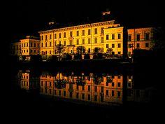 Drottningholm by night Buy Photos, I Passed, Stockholm, Sweden, Vikings, Castle, Island, Night, Live