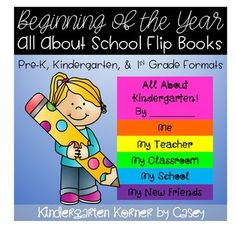 FLASH DOLLAR DEAL! Your students will be flipping over this beginning of the year writing activity that is differentiated for beginner writers in preschool, kindergarten, and first grade. Choose from 14 flip book cover choices and 2 book versions to accommodate different writing abilities.