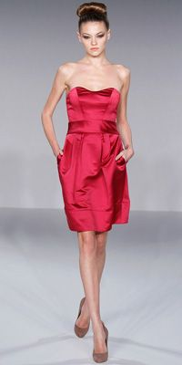 raspberry is a great color idea for the wedding