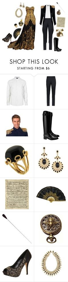 """""""Royal"""" by conquistadorofsorts ❤ liked on Polyvore featuring Alexander McQueen, River Island, Burberry, Tory Burch, Valentin Magro, Art Classics, Retrò, Paper Dolls and vintage"""