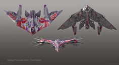Exclusive: Beautiful GUARDIANS OF THE GALAXY Concept Art by Po Sing Chu « Film Sketchr