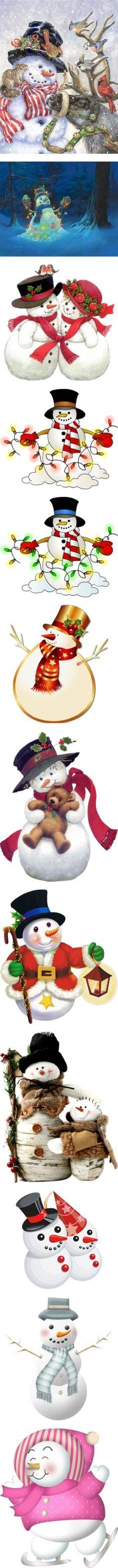 """snow"" many snowmans!!"