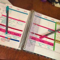 Planning..... Love my Erin Condren Life Planner #erincondren #erincondrenlifeplanner #planneraddict #plannerkit #eclp #planner