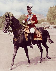 George V on horseback............   by ~KraljAleksandar