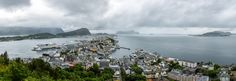 Alesund Panorama by Jean Schmalen on Alesund, River, Pictures, Outdoor, Photos, Outdoors, Outdoor Games, Outdoor Living, Rivers