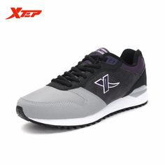 6e5cbcdafe1 Xtep Men's Outdoor Sport Patchwork ⑦ Damping Running Shoes ③ Spring Autumn  Comfortable Lace-Up Jogging Sneakers Xtep Men's Outdoor Sport Patchwork  Damping ...