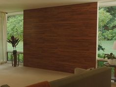 How To That Wood Wall Stained Shiplap Paneling For The Home The Shop