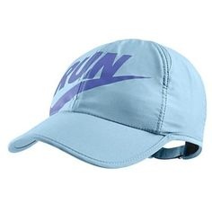 05b5a0e7a82 Nike Run Swoosh Featherlight Cap- allows airflow to reduce sweat!