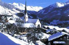 Alpbach, Austria    skiing holiday? Yes please.