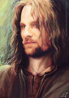 Aragorn http://albapalacio.tumblr.com