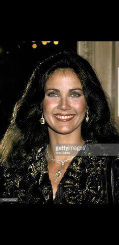 Lynda Carter on April 29, 1980