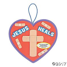 In times of need, it is important that children understand the healing power of Jesus. This Jesus Heals Sign Craft Kit is great to have on hand in your church ...