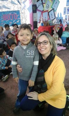 Secretaria Lilia Souza Rosa na Semana da Educação Infantil 2015 nas EMEIs.
