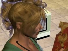 This creepy Sims fanfic. | The 26 Scariest GIFs You Will Ever See
