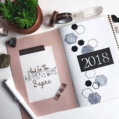 """380 Likes, 10 Comments - Quinn Bouley (@bujoplannergirl) on Instagram: """"This is my setup for my 2018 monthly bujo. I use a travelers notebook with several bullet journals…"""""""