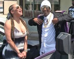 "Hazel E - Katt Williams Relationship Is Over  Hazel E and Katt Williams are officially done. Hazel got her ""Katt Williams"" tattoo covered with flowers. Hazel has been showing off her new boyfriend Rose Burgandy on Love and Hip Hop Hollywood. He's an 18-year-old aspiring rapper who Hazel can boss around. Katt is 43 and was most likely bossing Hazel around.  Last year Hazel and Jhonni Blaze went at it on social media over Williams. Jhonni posted a picture of her and Katt and Hazel went crazy…"