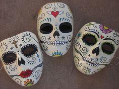 Imagenes de Mascaras Calaveras Mascaras de Calaveras Diy