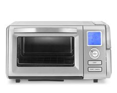 Cuisinart Combo Steam and Convection Oven. Toaster, convection oven (bakes and broils), and steamer. Only slightly larger than an average toaster oven. Can make steamed fish, flaky pastries, and roast chicken.