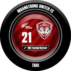 DNZ Football Buttons: Muangthong United FC                                                                                                                                                                                 Mais