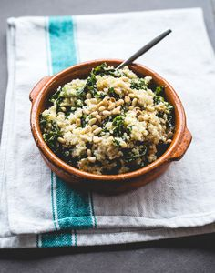 Kale Quinoa Bowl | 25 Recipes For People Who Hate Doing The Dishes