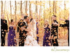 Fall wedding in Door County. Photography by the McCartneys.