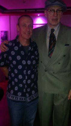 Jim Paterson and myself, Nov 2014, London