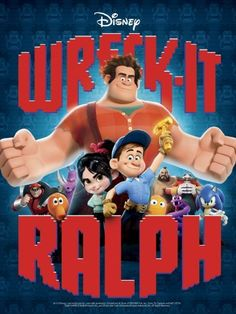 Wreck-It Ralph (Two-Disc Blu-ray/DVD Combo) - - Prepare for adventure when 'the most original film in years' (Bryan Erdy, CBS-TV) that thrilled audiences of all ages drops on Blu-ray! From Walt Disney Dvd Disney, Disney Blu Ray, Film Disney, Disney Movies, Pixar Movies, Great Movies, New Movies, Movies Online, Cult Movies