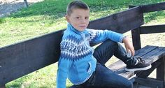 His new favorite sweater!  Tribal Sweater - FREE SHIPPING ON EVERY ORDER!