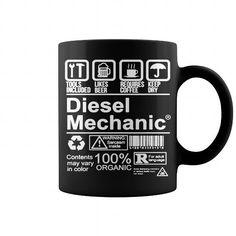 Cool Diesel Mechanic Mug Shirts & Tees
