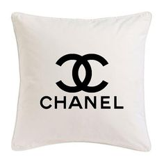 Pillow. Home Decor. Chanel. Fashion.
