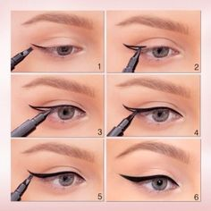 An outline will be create now fill this outline impressively and an exclusive grace of wing eyeliner will be in your command