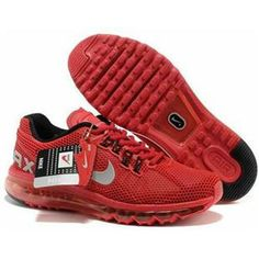 brand new de705 ddbe7 Mens Shoes Nike Air Max 2013 LG Hive Red White For Wholesale Nike Air Max  White