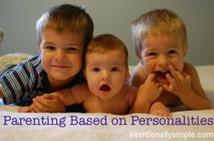 Parenting based on personalities